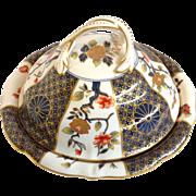 Imari Covered Dish English 19th C.