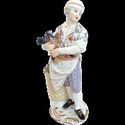 Meissen Gentleman Cook Figurine