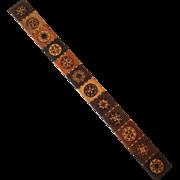 Tunbridge Wood Inlay Ruler