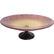 Schneider Glass Compote or Tazza