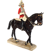 Kathleen Wheeler Royal Horse Soldier Guard Figure
