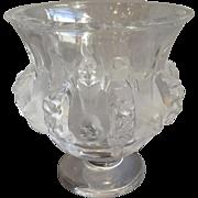 "Lalique Dampierre Vase 4.75"""