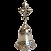Fleur De Lis 800 Silver Bell