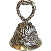 S. Kirk & Son Repousse Bell Sterling