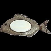 Antique Fish Mirror