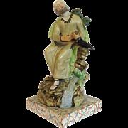 Elijah Staffordshire Religious Figure 19th C.