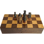 Soapstone Chess Set Boxed