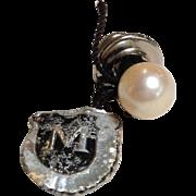 Mikimoto Cultured Pearl Tie Tac Paper Label