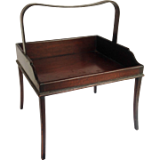 Portable Book Stand English Mahogany 19th c.