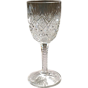 St Louis Florence Clear Cordial Glass 4.5""