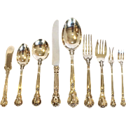 Gorham Chantilly Silverware Service For Eight Sterling