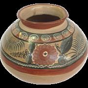 Tonala Pot Hand Painted Vase