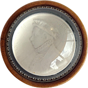 Sulfide Paperweight Of Francois II
