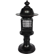 Bronze Japanese Three Part Lantern