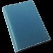 Hermes Epsom Leather Agenda Notebook in Blue Jean