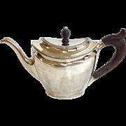 Dutch Sterling Tea Pot Circa 1828