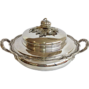 Cardeilhac French 950 Fine Silver Covered Dish 44 Ounces!