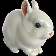 Copenhagen White Rabbit Porcelain Figure