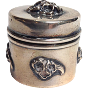 Thimble Case Sterling La Pierre Circa 1900