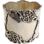 Napkin Ring Sterling Lattice Frank Smith