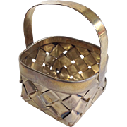 Cartier Miniature Basket Sterling