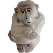 """Royal Copenhagan Porcelain Monkey Figure 5.5"""""""