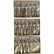 Corn Holders Eight Pair Sterling