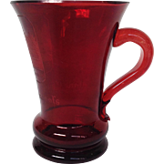 Forsterhaus Bad Pyrmont Ruby Glass Spa Cup