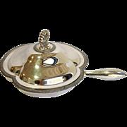 Silver Cloverleaf Serving Divided Skillet
