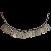 Girl Friend Charm Bracelet Sterling 18 Names 1950's