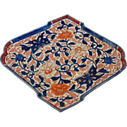 Imari Diamond Shape Antique Server 19 c.