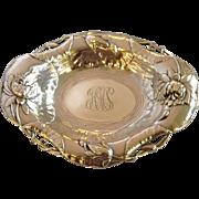 Water Lily Dish Sterling Art Nouveau Tilden-Thurber