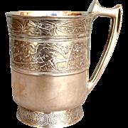 Gorham Japanese Sterling Cup c. 1873