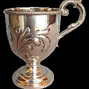 Philadelphia Coin Silver Cup Bard & Son 1850's