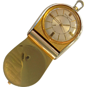 Jaeger LeCoultre Memovox Sterling Travel Alarm Watch