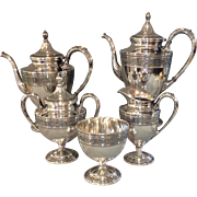 Wedgwood 5 Piece Tea and Coffee Service International Sterling