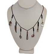 Cooking Chef Charm Necklace by PJ Sterling