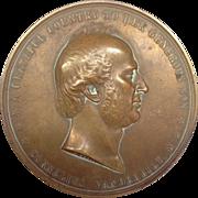 Large Bronze Commadore Cornelius Vanderbilt Metal