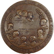 Bronze Medal Northwestern National Insurance Company Minneapolis 1937