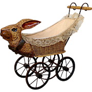 Rabbit Child's Doll Buggy