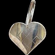 Tiffany Heart Basket Sterling Denmark Small