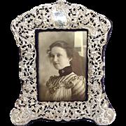 William Comyns Sterling Frame Circa 1895