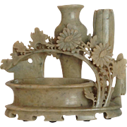 Chinese Soapstone Brush Washer