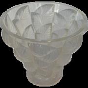 Lalique Moissac Vase Circa 1945