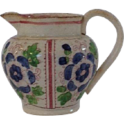 Miniature Floral Ceramic Doll Pitcher or Jug 2.3""