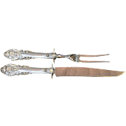 Sir Christopher Sterling Carving Set Wallace