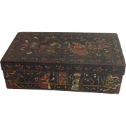 Antique Persian Decorated Box