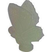 Sabino Art Glass Butterfly As Is 6""