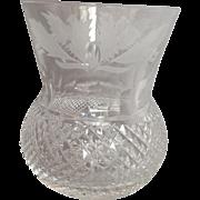 "Small Edinburgh Whiskey Glass 3.25"""