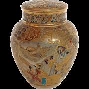 Satsuma Tea Caddy Japan 19th Century